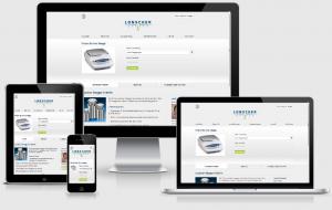 Responsive Webdesign mit WordPress für Lonscher Waagen