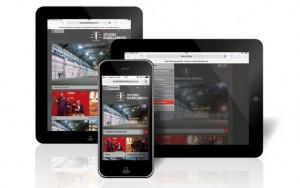 Mobile Website (Studio Babelsberg)