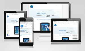 Responsive Webdesign für Miethke