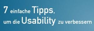 Usability verbessern