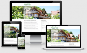 Responsive Website Waldseehotel Frenz in Chorin