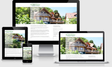 Responsive Website Waldseehotel Frenz ChResponsive Website Waldseehotel Frenz Chorin