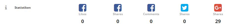 SEO Tool opage.org - Social-Signals