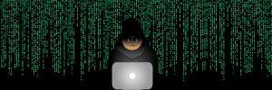 Hacker beim Hacken