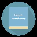 Grammatik und Rechtschreibung Button